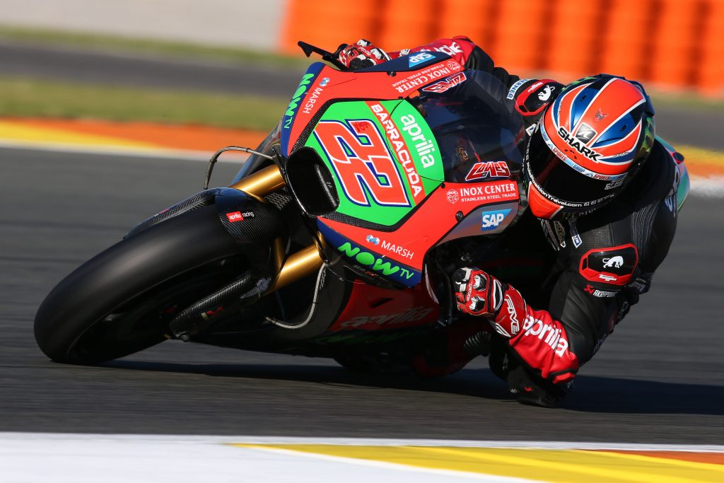 Aprilia Racing Team Gresini kicks off 2017 at Valencia: Sam Lowes and Aleix Espargarò on track for the first test - Gresini Racing