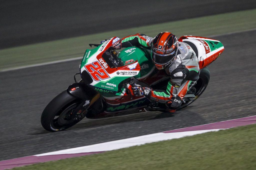APRILIA CRESCE NEI TEST MOTOGP IN QATAR - Gresini Racing