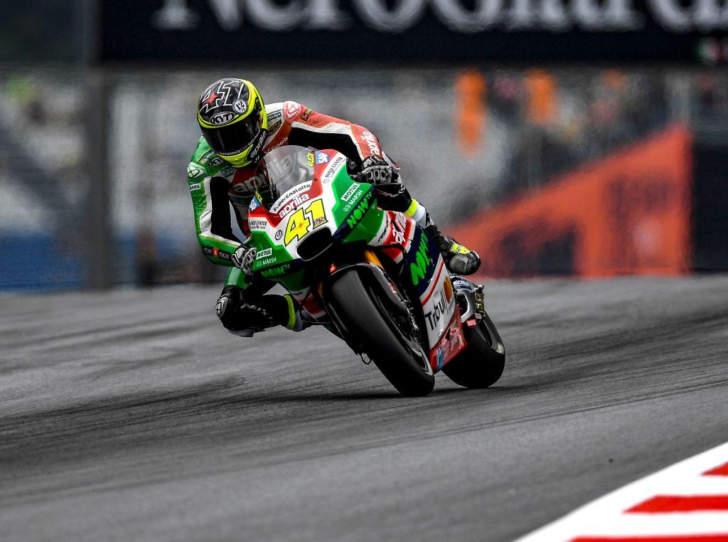 ALEIX ESPARGARO' VELOCE NELLA PRIMA GIORNATA IN AUSTRIA - Gresini Racing