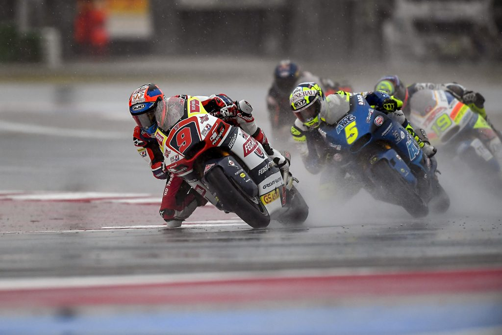 UNUSUAL CRASH FOR NAVARRO IN MISANO'S MOTO2 RACE   - Gresini Racing
