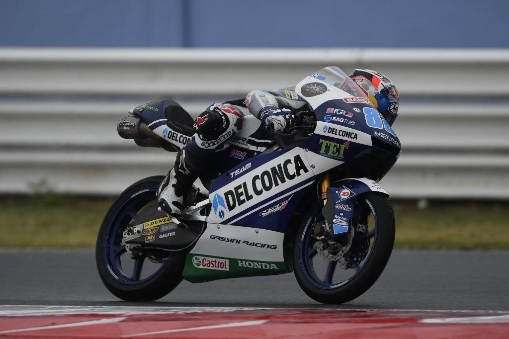 DIGGIA RITROVA IL SORRISO SUL PODIO DI MISANO   - Gresini Racing
