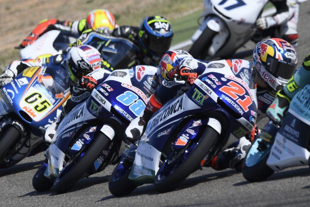 "MOTEGI APRE IL ""TRIPLETE"" DEL TEAM DEL CONCA GRESINI MOTO3   - Gresini Racing"