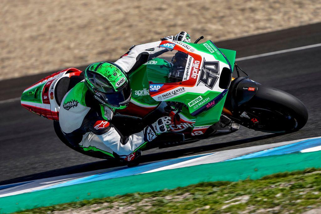 SCOTT REDDING ED EUGENE LAVERTY IN PISTA CON LE RS-GP PER TRE GIORNI A JEREZ DE LA FRONTERA - Gresini Racing