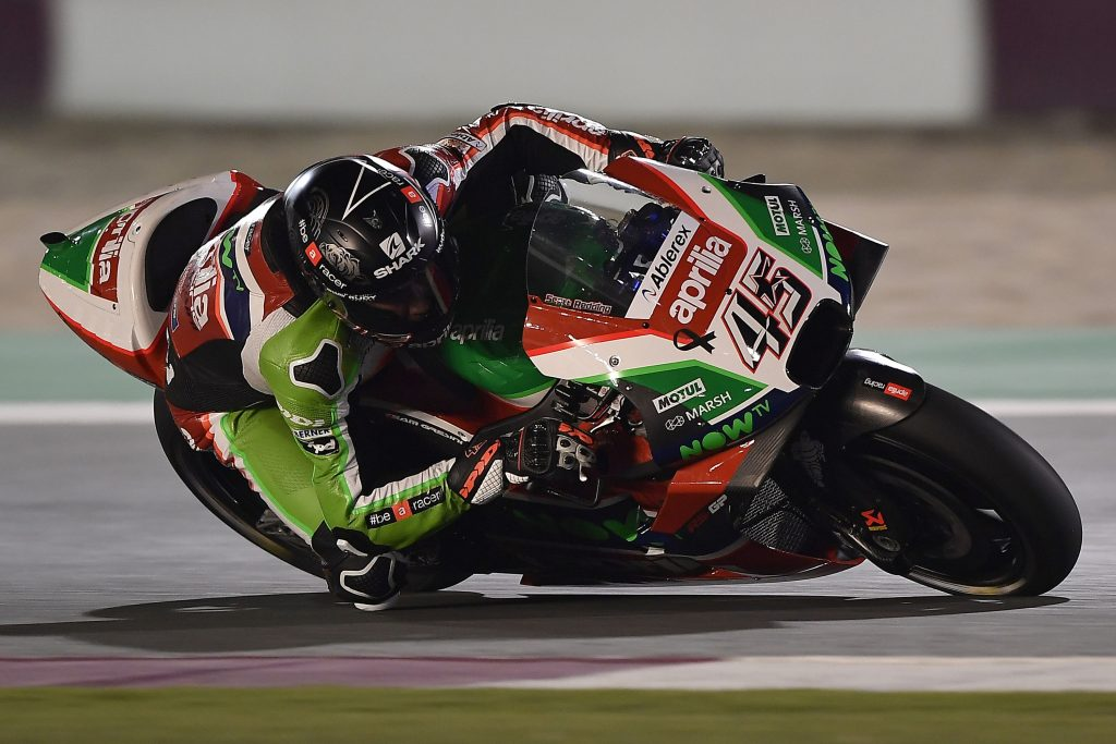 THE APRILIA RS-GP MACHINES DO WELL ON THEIR DÉBUT IN THE FIRST PRACTICE SESSIONS IN QATAR - Gresini Racing