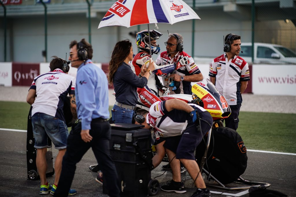 TOP-10 FINISH FOR NAVARRO IN QATAR - Gresini Racing