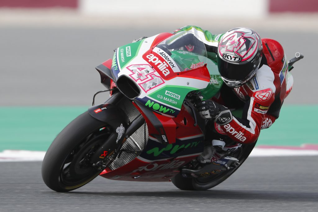 ABLEREX IN MOTOGP FOR THE FIRST TIME WITH APRILIA TEAM GRESINI    - Gresini Racing