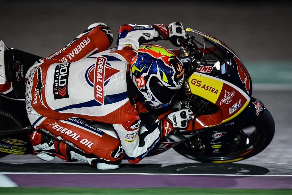 NAVARRO CLAIMS SEVENTH PLACE ON THE GRID IN QATAR - Gresini Racing