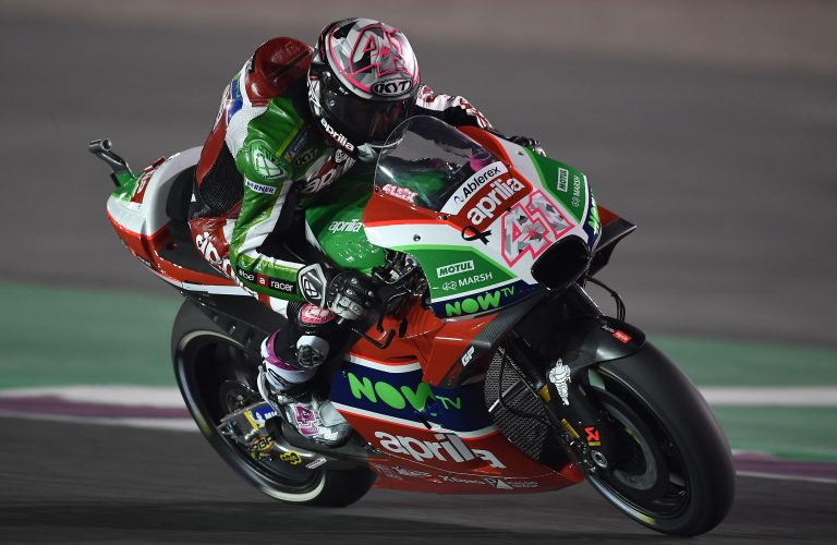 BENE LE APRILIA RS-GP ALL'ESORDIO NEL PRIMO TURNO DI PROVE IN QATAR