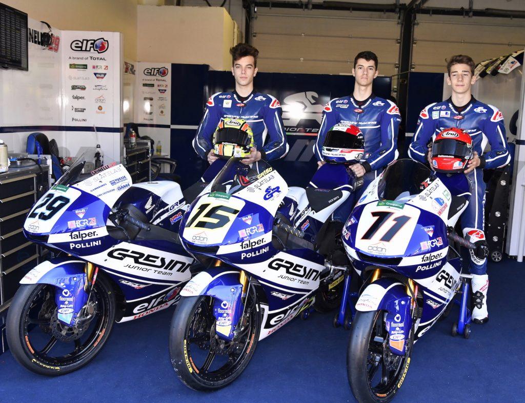 ODON E GRESINI RACING JUNIOR TEAM INSIEME PER DUE ANNI - Gresini Racing