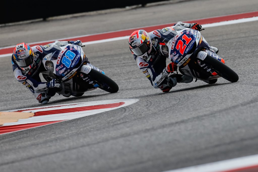 MARTIN BACK IN THE LEAD AFTER WINNING #AMERICASGP MOTO3 RACE - Gresini Racing
