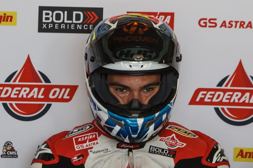 ENCOURAGING FRIDAY FOR NAVARRO AT TERMAS    - Gresini Racing