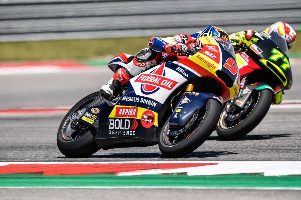 A COMEBACK TO EIGHTH TO WRAP UP NAVARRO'S #AMERICASGP    - Gresini Racing