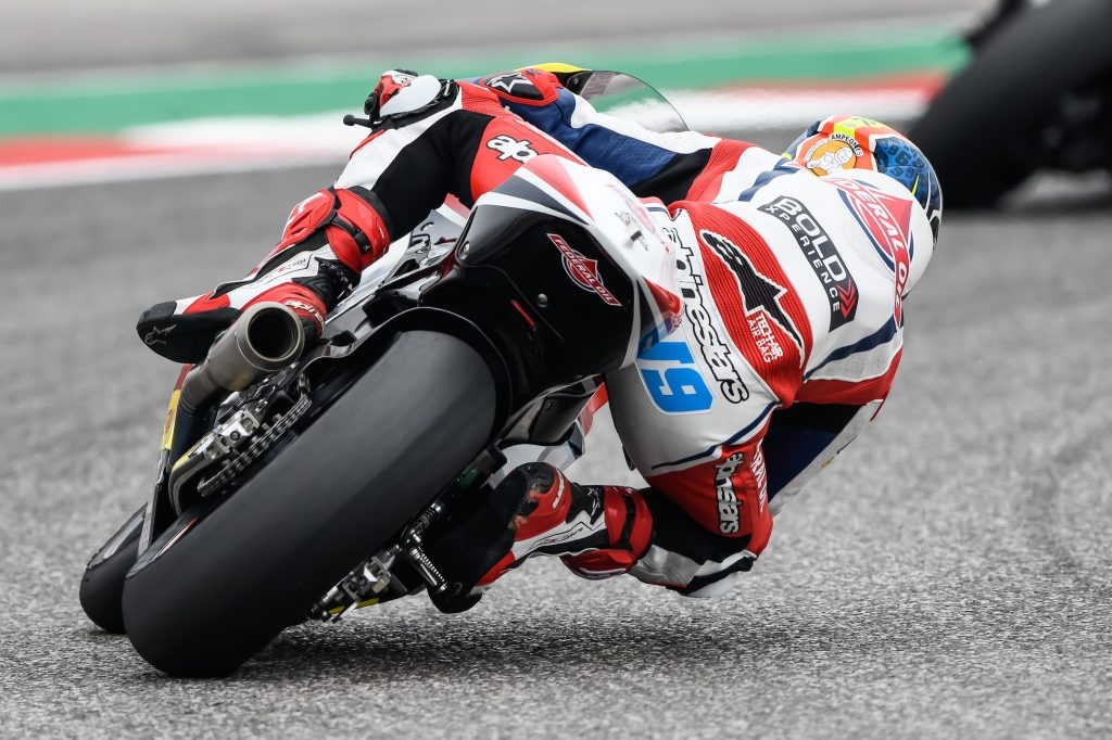 CHALLENGING QUALIFYING FOR NAVARRO AT COTA    - Gresini Racing
