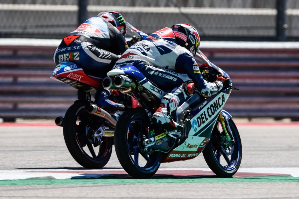 MARTIN BACK IN THE LEAD AFTER WINNING #AMERICASGP MOTO3 RACE - Gresini Racing