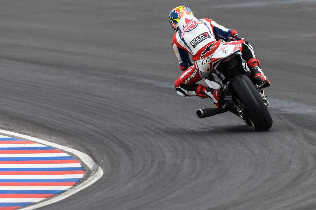 NAVARRO CRASHES OUT EARLY AT TERMAS THE RIO HONDO - Gresini Racing