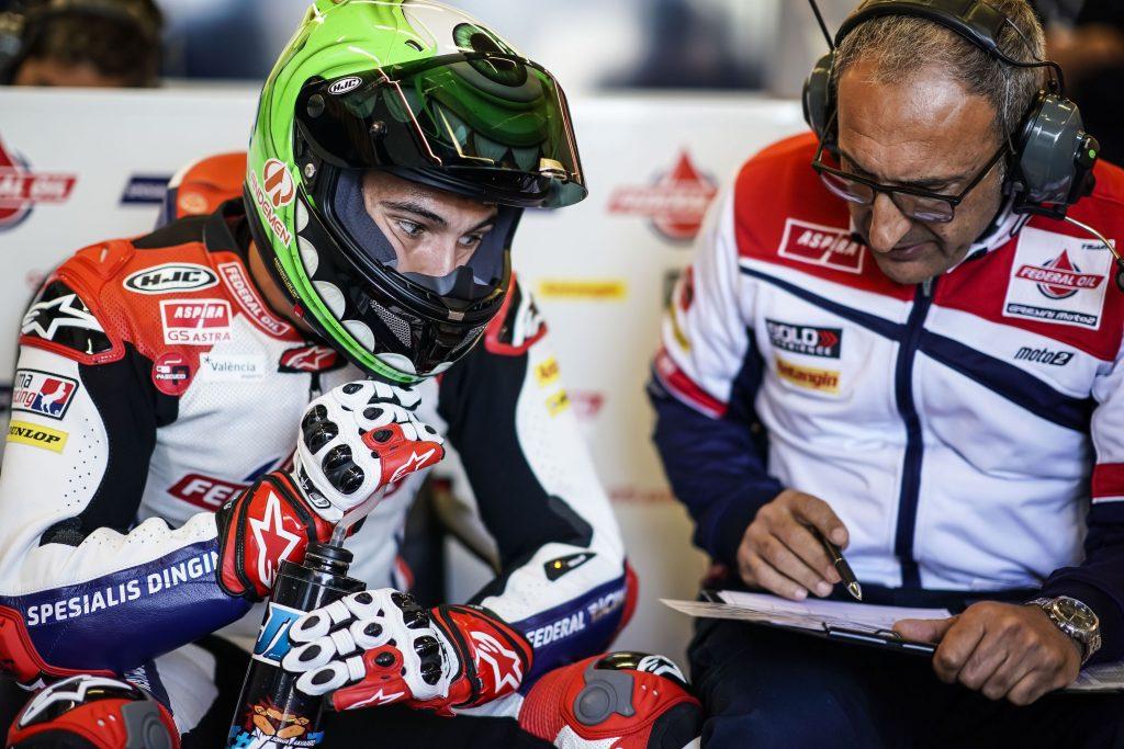 QUALIFICHE DIFFICILI PER NAVARRO A LE MANS - Gresini Racing