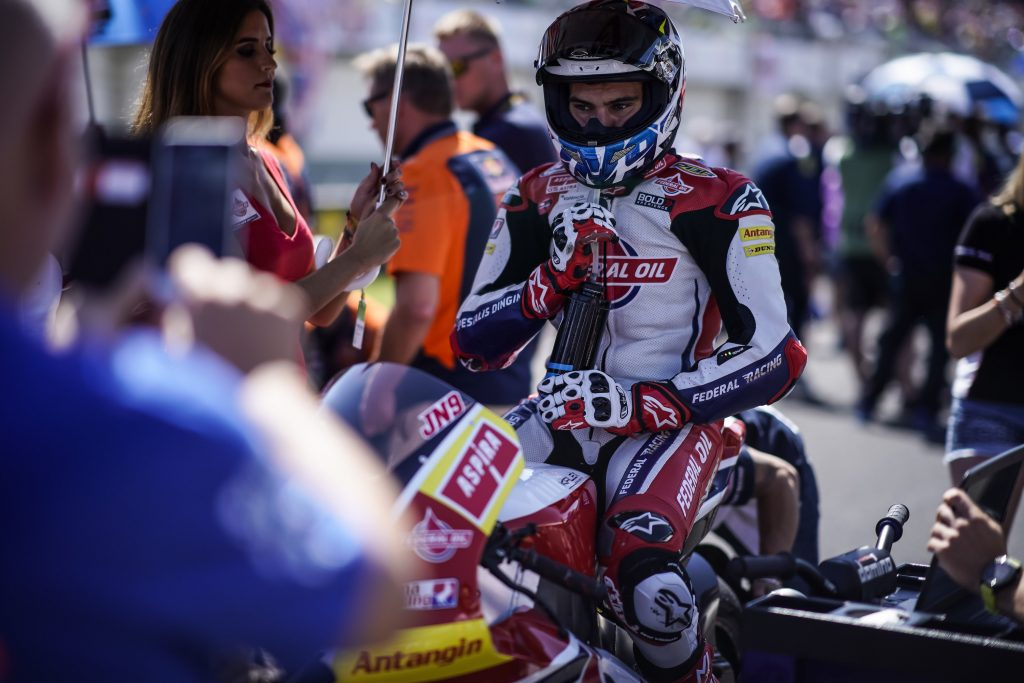 "NAVARRO: ""THE PODIUM WAS POSSIBLE TODAY"" - Gresini Racing"