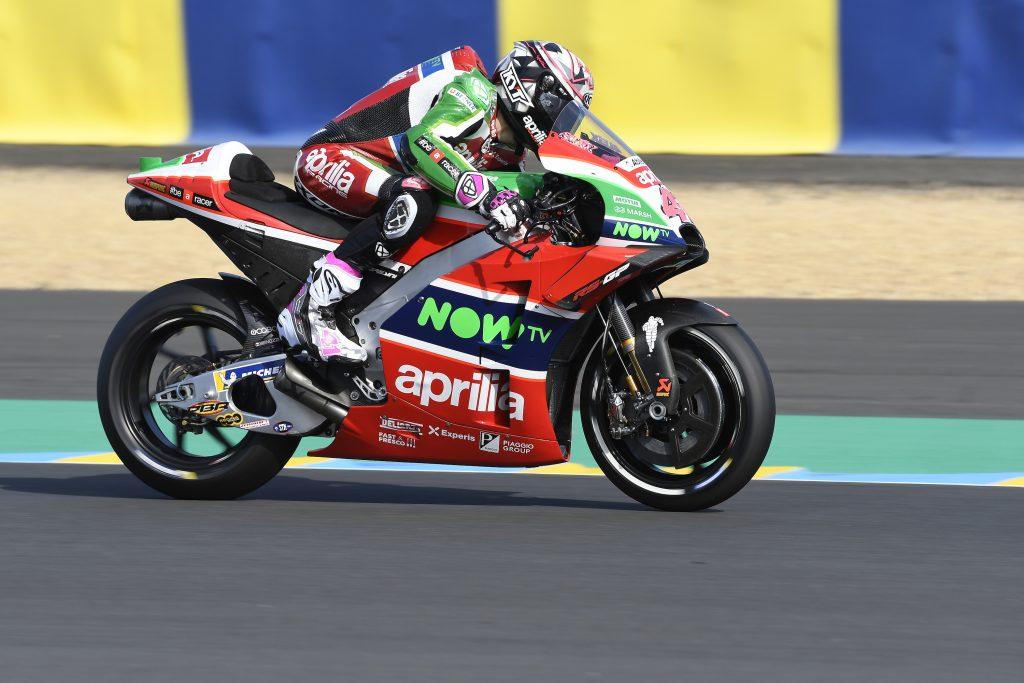 BUON FEELING E Q2 PROVVISORIA PER ALEIX ESPARGARO' - Gresini Racing