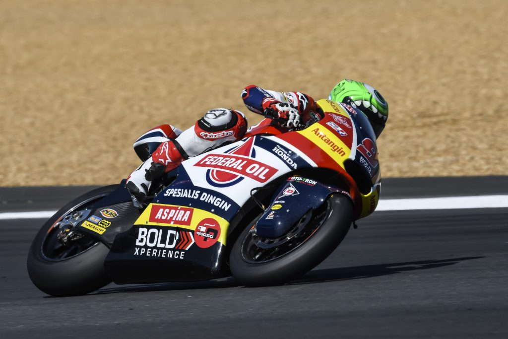 NAVARRO ON THE PACE AT LE MANS DESPITE TWO TUMBLES    - Gresini Racing