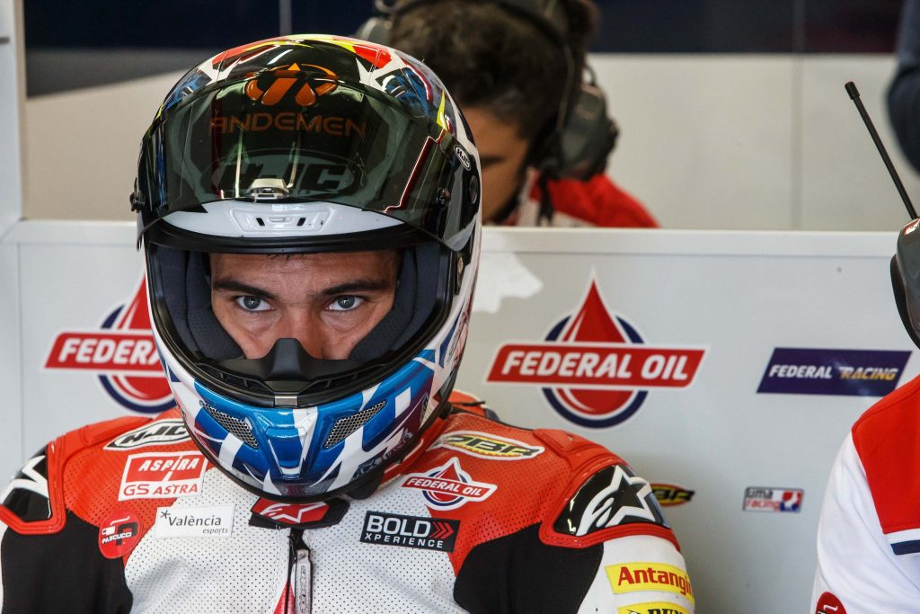 "NAVARRO: ""AN ENCOURAGING TEST, NOW ON TO LE MANS TO SHOW OUR POTENTIAL"" - Gresini Racing"