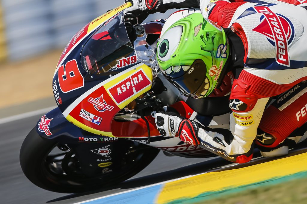 DIFFICULT QUALIFYING FOR NAVARRO  AT LE MANS - Gresini Racing