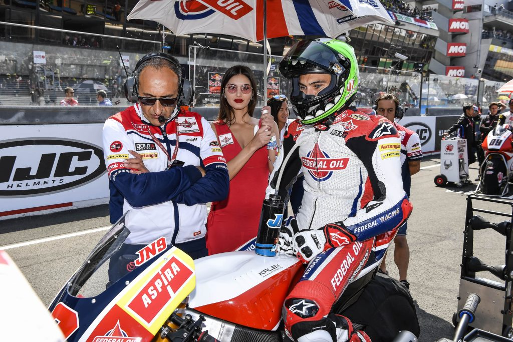 LE MANS ONCE AGAIN AN UNKIND TRACK TO JORGE NAVARRO    - Gresini Racing