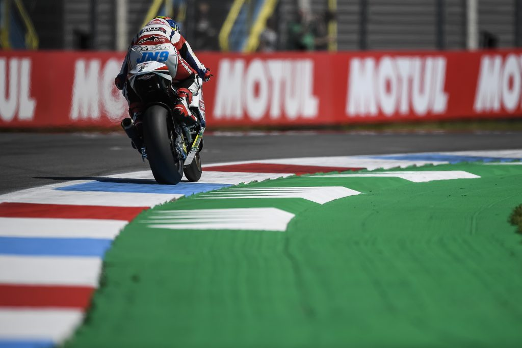 NAVARRO MAKES BABY STEPS IN #DUTCHGP    - Gresini Racing