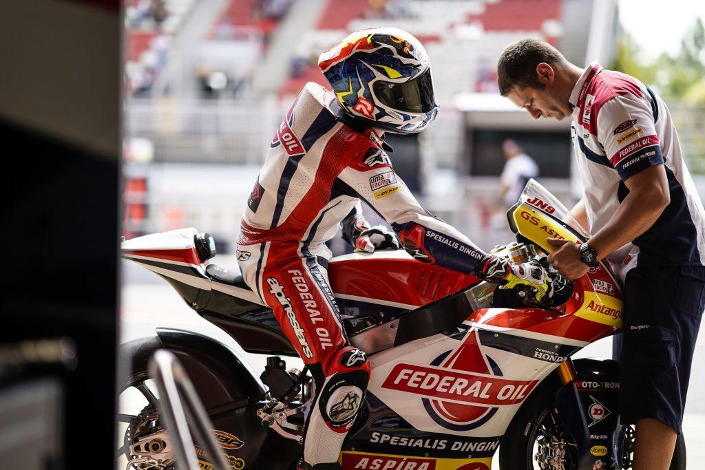 "NAVARRO ENDURES ""WORST SATURDAY OF THE SEASON"" AT #CATALANGP   - Gresini Racing"