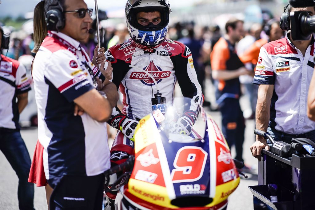 AN #ITALIANGP TO FORGET FOR JORGE NAVARRO    - Gresini Racing