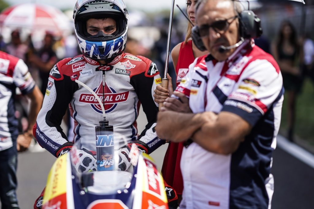 "NAVARRO: ""WE HIT ROCK BOTTOM, TIME TO CHANGE APPROACH"" - Gresini Racing"