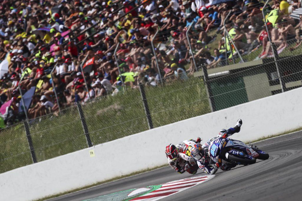 #CATALANGP: MARTIN OUT, DIGGIA TROVA PUNTI IMPORTANTI - Gresini Racing