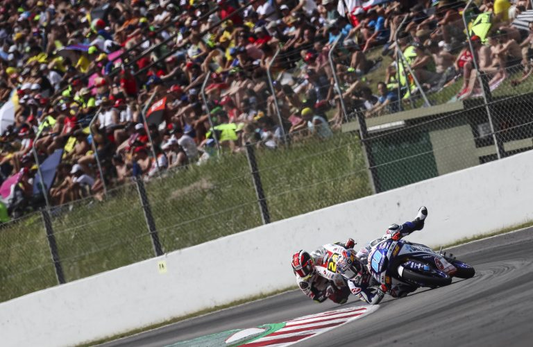 #CATALANGP: MARTIN OUT AS DIGGIA EARNS CRUCIAL POINTS