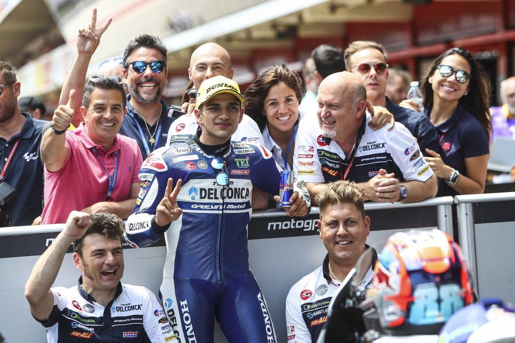 """#CATALANGP QUALIFICHE: MARTIN """"SOLO"""" 2º, DIGGIA PREPARA LA RIMONTA   - Gresini Racing"""