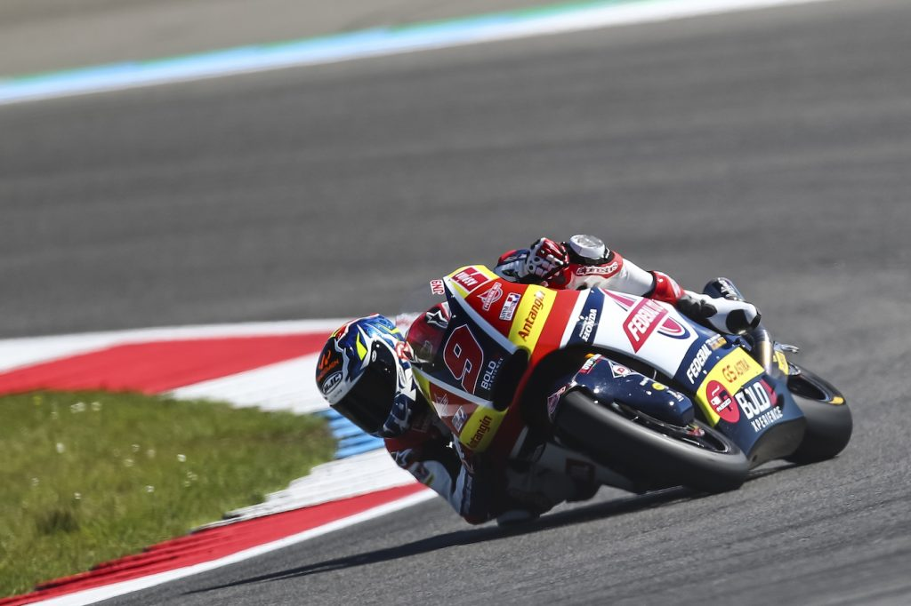 THIRD ROW FOR NAVARRO AT ASSEN    - Gresini Racing