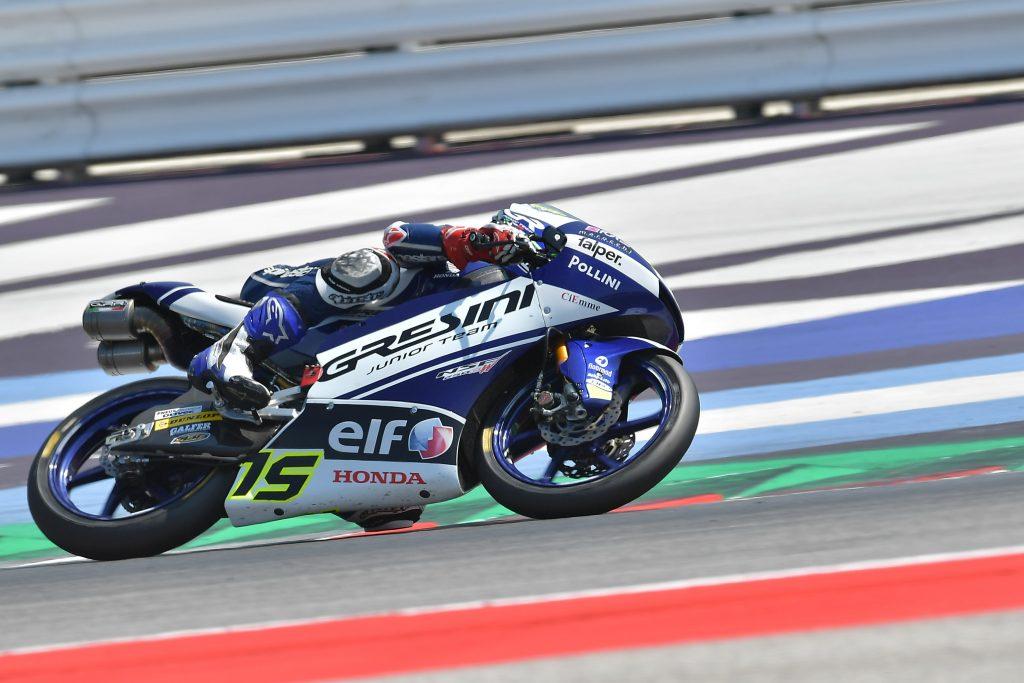 MISANO RACE2: SPINELLI SOLO SESTO, PRIMO PUNTO PER GRESINI - Gresini Racing