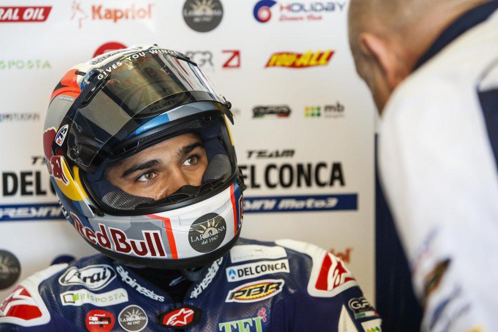 AL SACHSENRING IL TEAM DEL CONCA GRESINI CERCA CONFERME - Gresini Racing