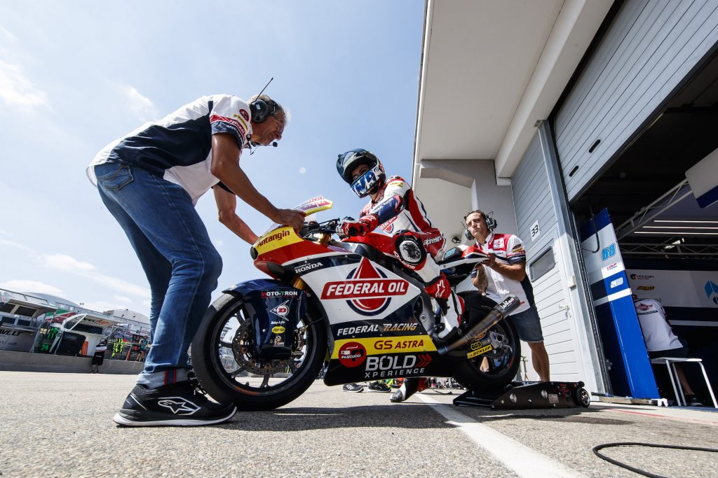 BATTERY CHARGED FOR NAVARRO AHEAD OF BRNO     - Gresini Racing