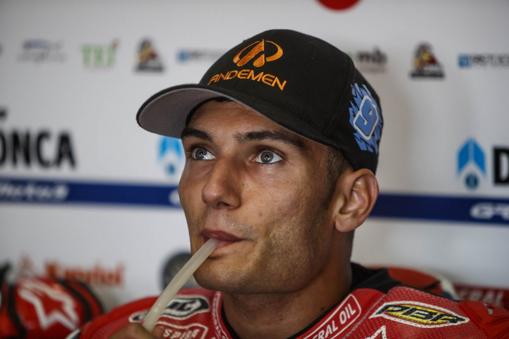 BATTERY CHARGED FOR NAVARRO AHEAD OF BRNO   - Gresini Racing