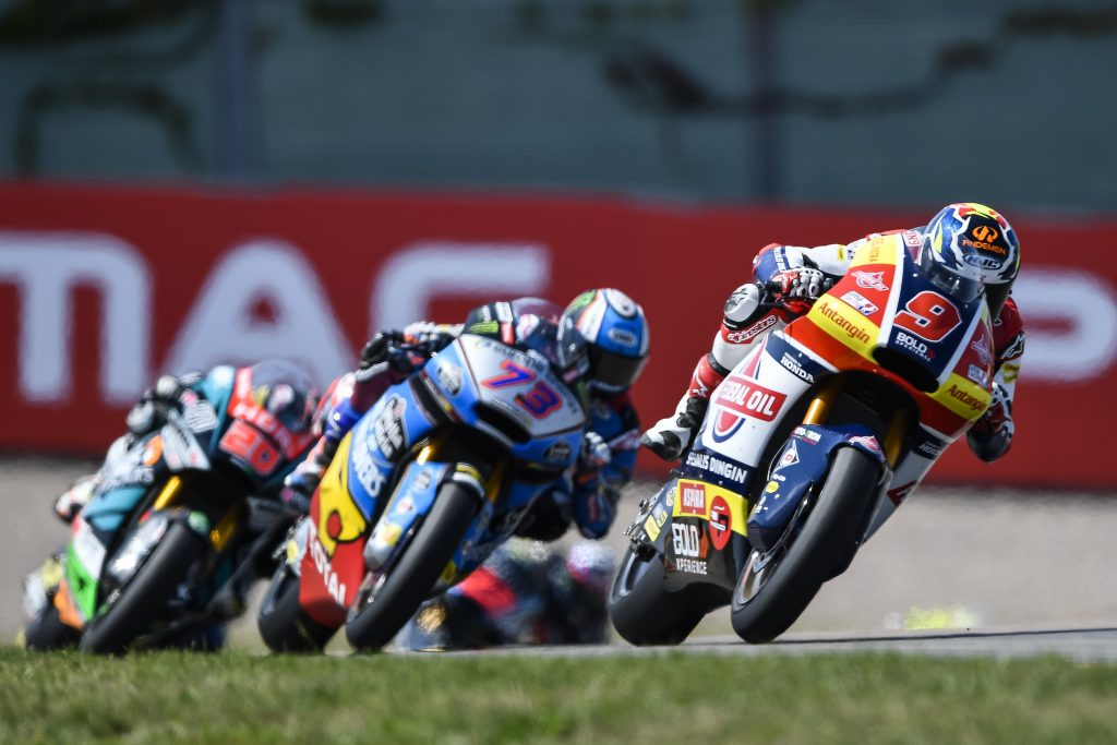 NAVARRO BACK INTO TOP-TEN AT #GERMANGP    - Gresini Racing