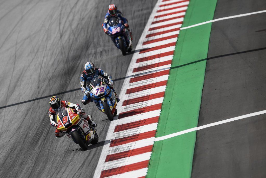TOP-5 RACE RESULT FOR NAVARRO IN AUSTRIA   - Gresini Racing