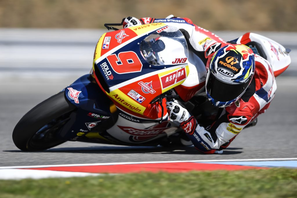 """NAVARRO: """"WE HAVE A GOOD PACE, SO WE MUST BELIEVE IN OUR CHANCES"""" - Gresini Racing"""