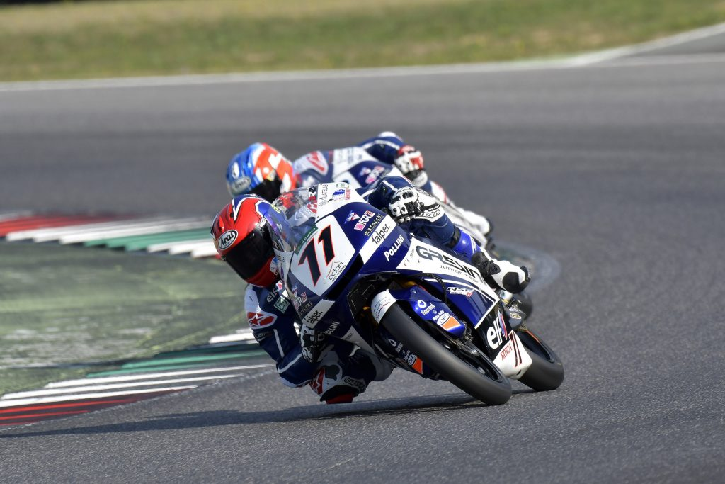 MUGELLO RACE1: ROSSI PODIO, SPINELLI QUASI    - Gresini Racing