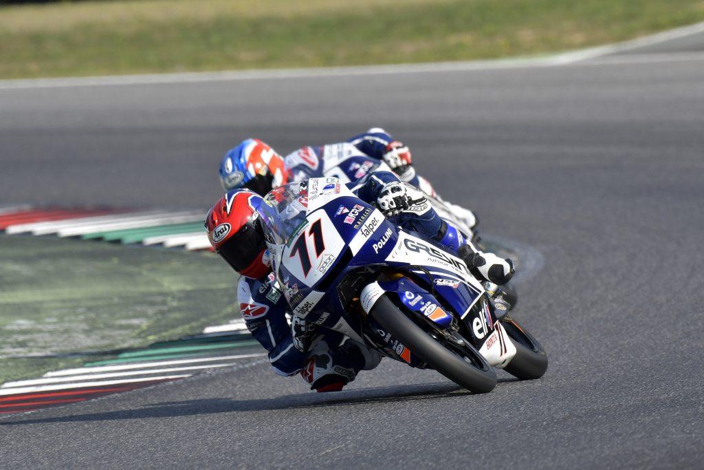 MUGELLO RACE1: ROSSI PODIO, SPINELLI QUASI   - Gresini Racing