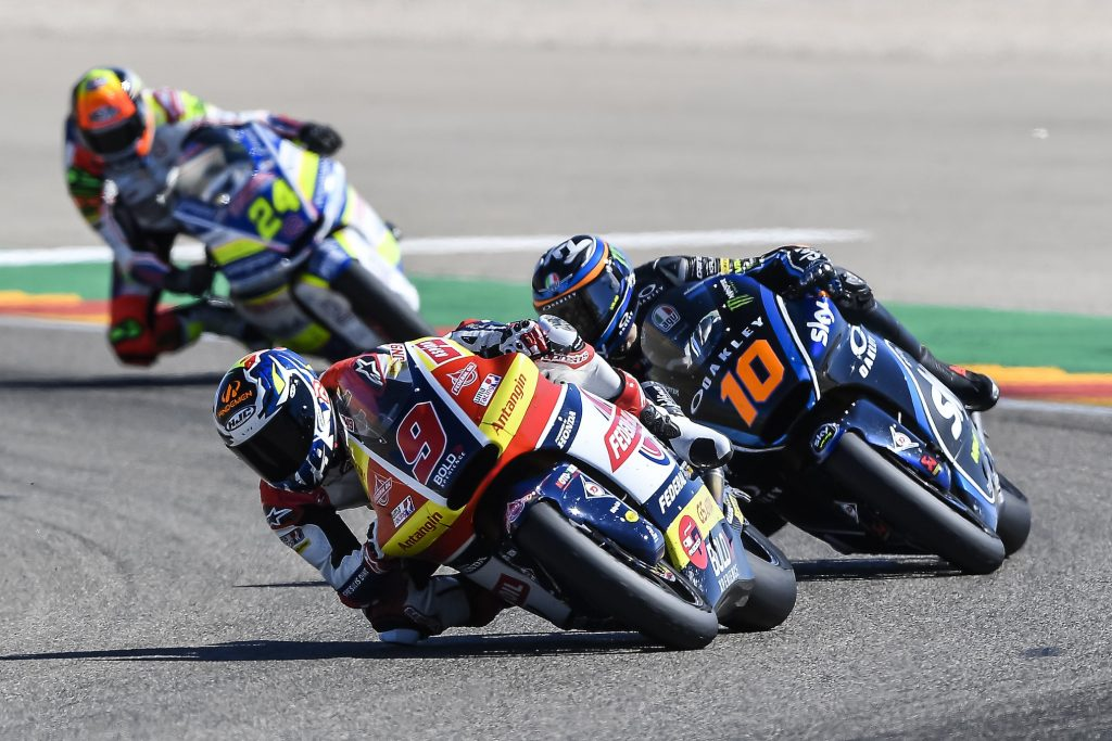 JUST A TOP-10 FINISH FOR NAVARRO AT ARAGON    - Gresini Racing