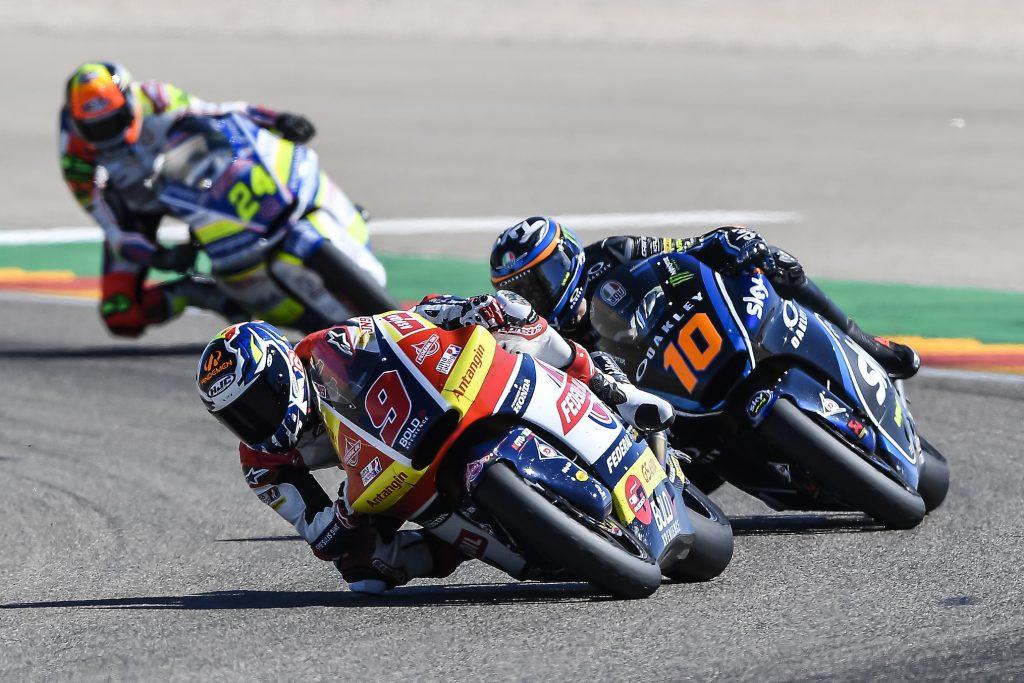 AD ARAGON SOLO TOP10 PER JORGE NAVARRO - Gresini Racing