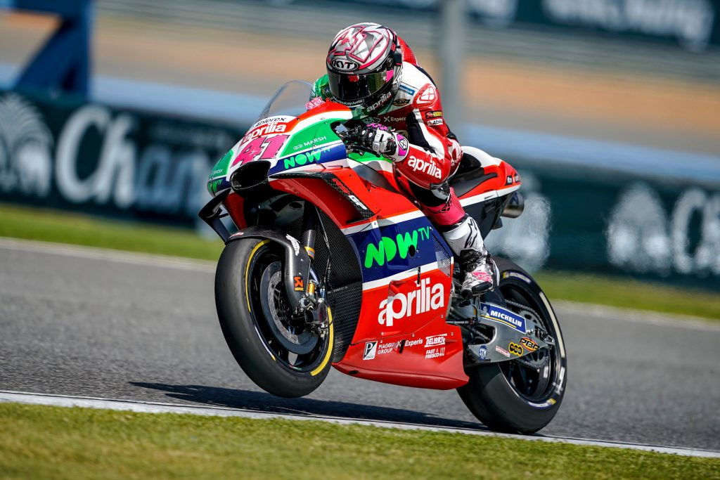 ALEIX ESPARGARÓ IN THE POINTS IN THE GP OF THAILAND - Gresini Racing