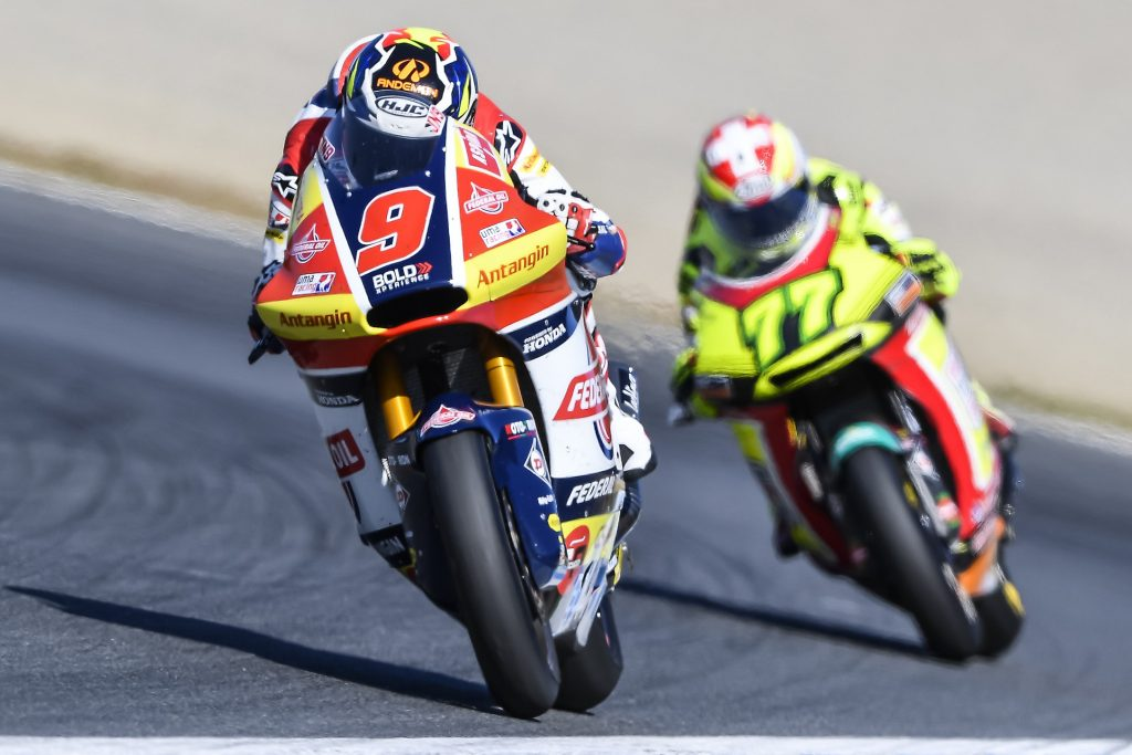 A CRASH PUTS AN END TO NAVARRO'S RACE AT MOTEGI    - Gresini Racing