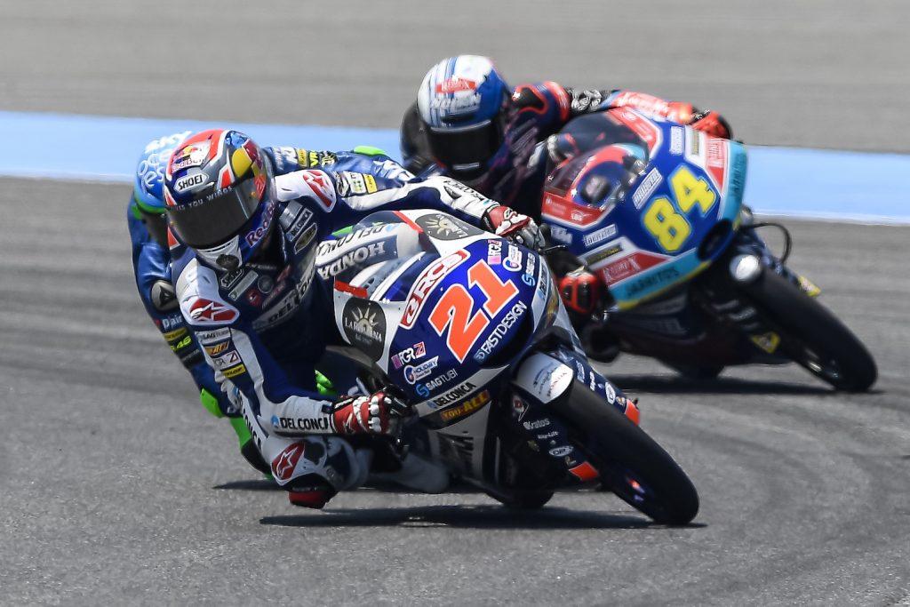 DI GIANNANTONIO RE DI THAILANDIA, MARTIN 4º E SEMPRE PIÙ LEADER   - Gresini Racing