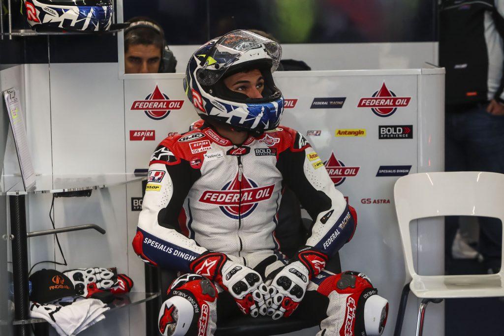 DOPPIO CRASH PER NAVARRO NELLE LIBERE DI VALENCIA - Gresini Racing