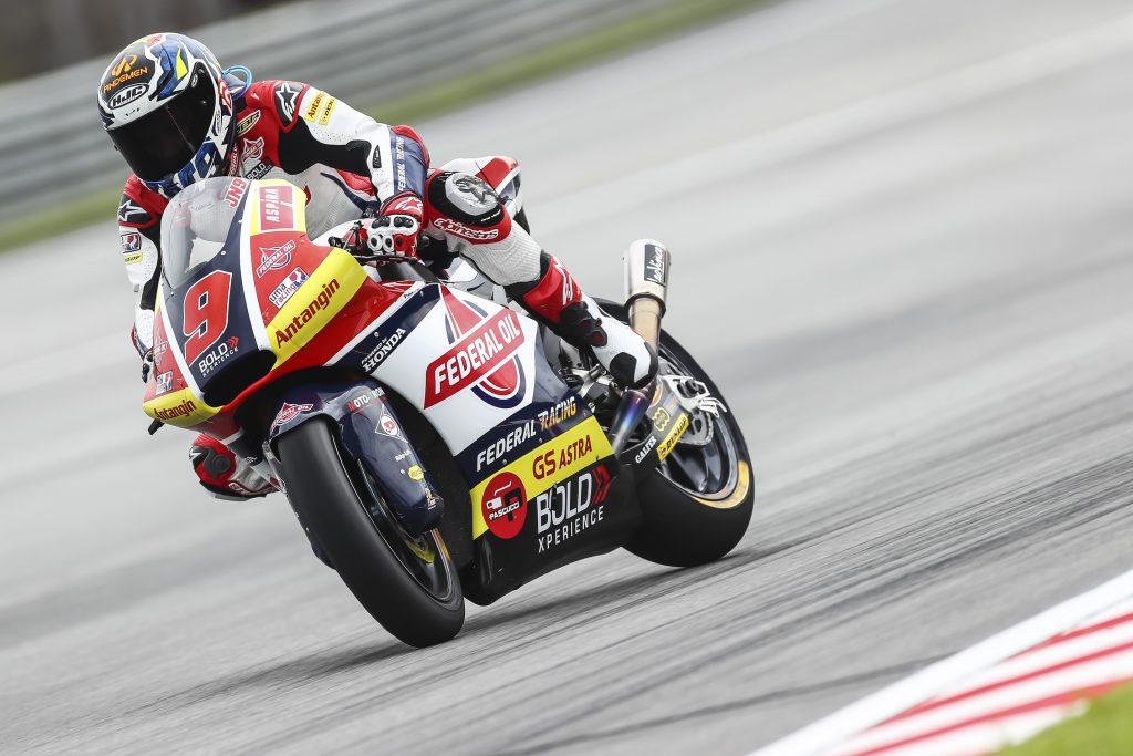 NAVARRO SI CONGEDA SUL CIRCUITO DI CASA - Gresini Racing